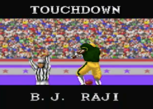 B.J. Raji's Defensive Action!